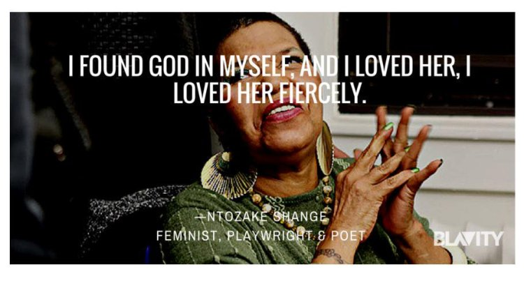 i found god in myself quote